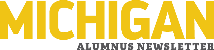 Michigan Alumnus Newsletter masthead